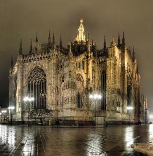 Música antigua, Milán