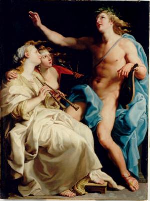 Música antigua – Apolo y las Musas (III)