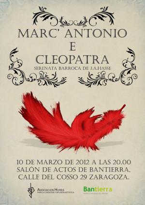 """Marc'Antonio e Cleopatra"" (de J.A. Hasse)"