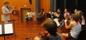 Curso de música antigua en el Antiguo Instituto de Gijón