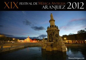 Festival de Música Antigua de Aranjuez 2012