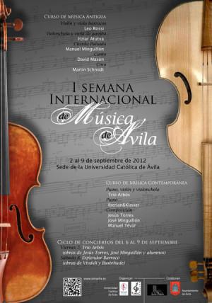 Ávila acoge a la Música Antigua en la Semana Internacional de Música