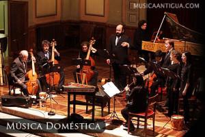 Música Doméstica rescató sonidos del Renacimiento