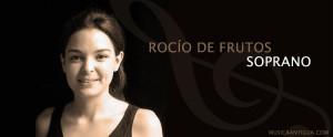 Rocío de Frutos, soprano