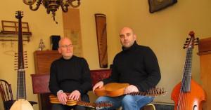 Concierto de William Waters & Xavier Alern. Dúo de música renacentista