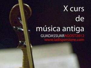 X Curso de Música Antigua en Guadassuar