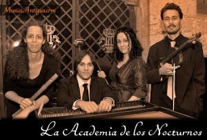 """I Curso de Música Antigua en Valencia. """"La Academia de los nocturnos"""""""