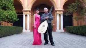 Mariví Blasco y Juan Carlos Rivera inician las Noches en los Jardines del Real Alcázar
