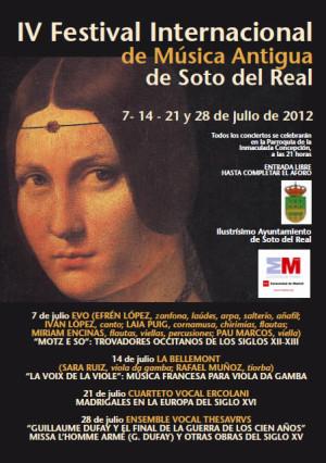 IV Festival Internacional de Música antigua de Soto del Real
