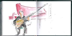 Dibujando música antigua