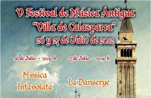 V edición del Festival de Música Antigua 'Villa de Calasparra'