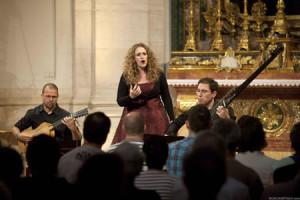 Raquel Andueza, en la Semana de Música Antigua de Estella