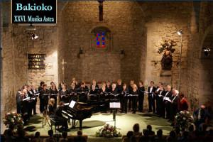 El coro de Cambridge inicia la Semana de la Música en Bakio