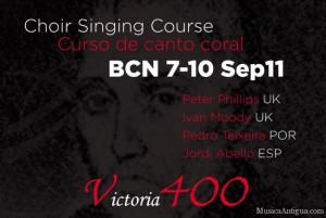 II CURSO DE CANTO CORAL, VICTORIA 400