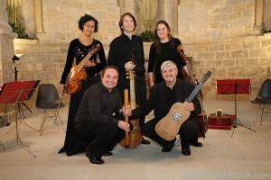 Ensemble Durendal estrena en Olite 'Jançu Janto', música vocal e instrumental de 1512
