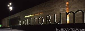 Riojafórum reedita en septiembre la XIV 'Semana de la Música Antigua'