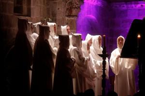 Comenzó el ciclo de canto gregoriano 'Cantos Sonados' en Veruela