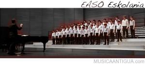 El Ciclo de Música Antigua de San Sebastián comienza con un concierto de la Escolanía Easo