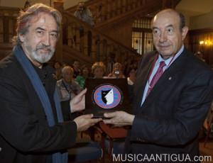 El Maestro Jordi Savall recoge el Premio La Barraca