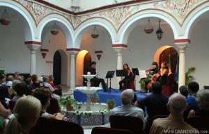 El Trío L´Unisono llena hoy de música el Ayuntamiento de Guadaira