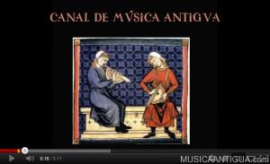 Nueva sección de Vídeos de MúsicaAntigua.com