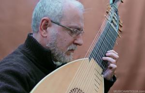 Recital de guitarra barroca de Juan Carlos Rivera