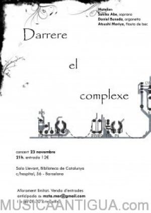 """Concierto de música medieval """"Darrere el complexe"""""""
