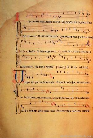 Dos manuscritos del siglo XIV: Módena y Montserrat – 14/12/12