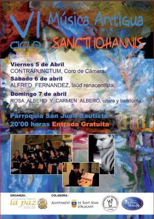 "VI Ciclo de Música Antigua ""Sancti Iohannis"""