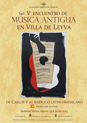 España será el país invitado en el V encuentro de Música Antigua en Villa de Leyva