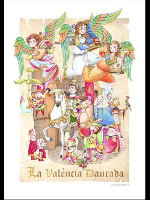 La Falla Infantil quemará los instrumentos renacentistas de los ángeles de la Catedral de Valencia