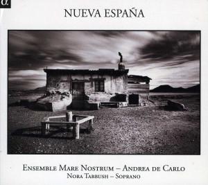 CD Nueva España. Músicas del Nuevo Mundo