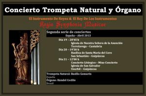 Conciertos Órgano y Trompeta Natural