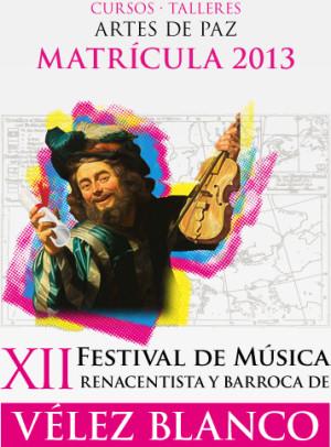 El Festival de Música Renacentista y Barroca de Vélez-Blanco, sonará con el apoyo de todos