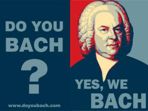 Conviértete en mecenas: Do you Bach? Yes, we Bach