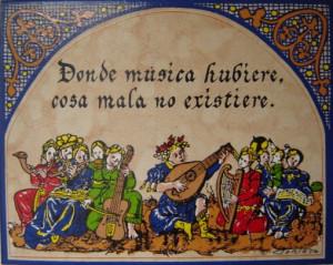 """Don Quijote decía que """"Donde música hubiere, cosa mala no existiere"""""""