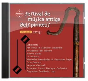 CD de Música Antigua del Festival de los Pirineos 2013
