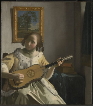 Cómo Vermeer trasladó al lienzo la sensualidad de la música