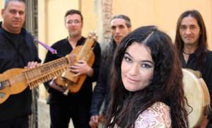 Mara Aranda, voz de judíos y musulmanes en el 25º Mercat de Música Viva de Vic