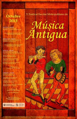 Festival Escolar Metropolitano de Música Antigua (Santiago – Chile)