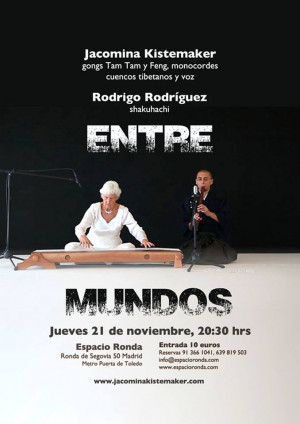 La flauta shakuhachi de Rodrigo Rodríguez suena en Madrid