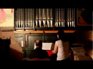 La Recercada graba un concierto con uno de los órganos más antiguos de Europa