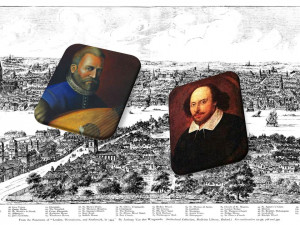 ¿Acaso no fueron presentados Dowland y Shakespeare?