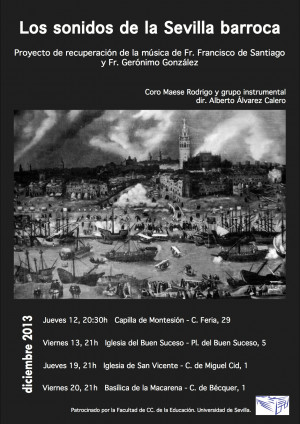 Concierto Los sonidos de la Sevilla barroca