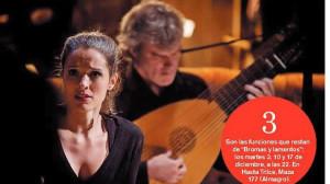 """""""Bromas y lamentos"""" una pequeña ópera con canciones de amor del siglo XVII"""