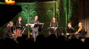 El grupo 1500 en concierto: Cancioneros del siglo XVI y cantigas del Rey Afonso X