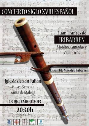 Concierto SXVIII Español. Grupo de música antigua Maestro Iribarren