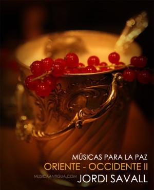 """JORDI SAVALL cautiva con """"ORIENT-OCCIDENT II"""", un nuevo CD dedicado a la Música por la Paz"""