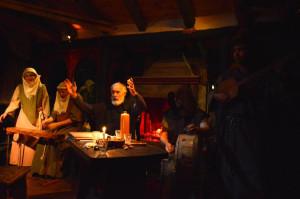 Música medieval y recursos escénicos para recrear la atmósfera del Medievo