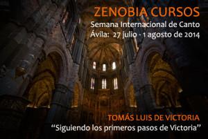Semana Internacional de Canto. Zenobia Música 2014